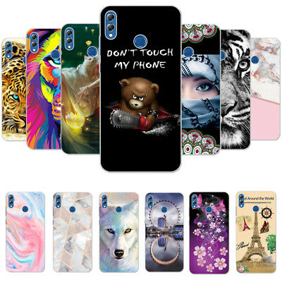 Patterned Ultra Thin Slim Soft TPU Case Cover For Huawei Honor 8X Y5 Y6 2018 P20