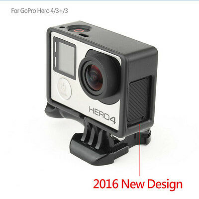 Standard Frame Border Housing Case Mount For GoPro Hero 3Hero 3+Hero 4 Black cda