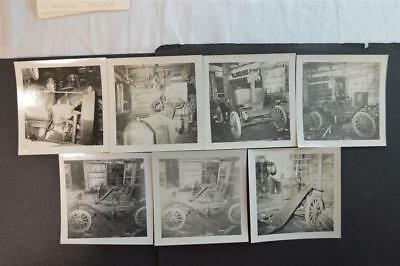 Vintage 1950s Photos Barn Find 1911 Brush Runabout Car 922007