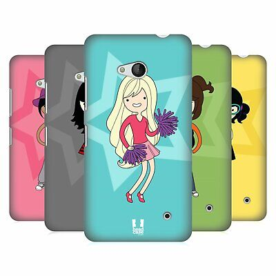 Head Case Designs Female Teen Personalities Hard Back Case For Microsoft Phones