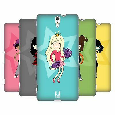 Head Case Designs Female Teen Personalities Hard Back Case For Sony Phones 2