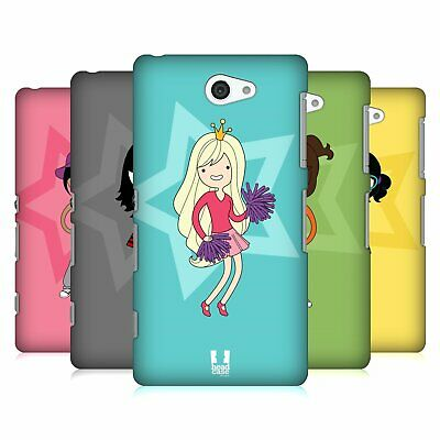 Head Case Designs Female Teen Personalities Hard Back Case For Sony Phones 4