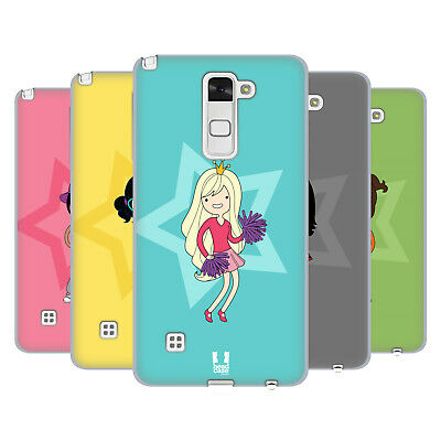 Head Case Designs Female Teen Personalities Soft Gel Case For Lg Phones 3