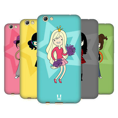 Head Case Designs Female Teen Personalities Soft Gel Case For Oppo Phones