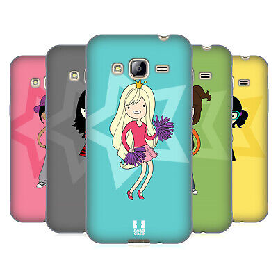 Head Case Designs Female Teen Personalities Soft Gel Case For Samsung Phones 3