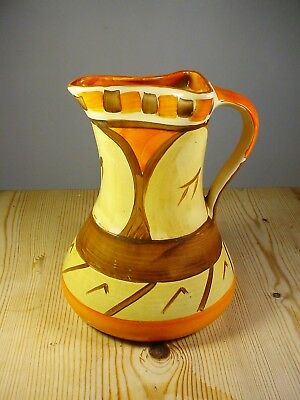 Myott Son & Co Art Deco Pinchneck Jug (2)