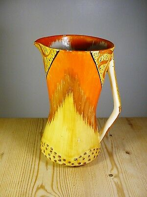 Samford Ware Art Deco Myott Jug 1936-39 - Samuel Ford & Co.