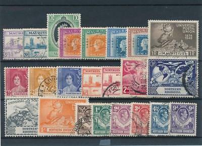 [51698] British Colonies good lot Used Very Fine stamps