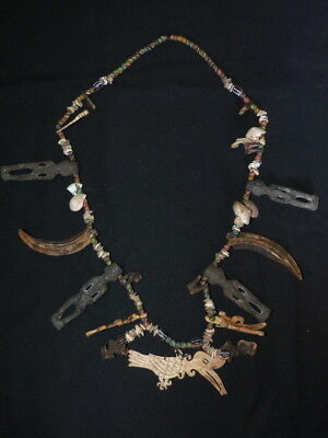 Necklace From The Dayak, Borneo Island