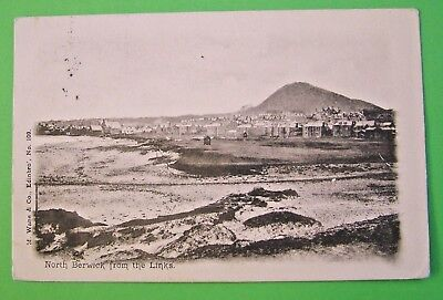 North Berwick from the Links (M. Wane & Co., Edinbro') - c1906