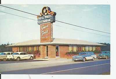 MANCHESTER TENNESSEE RESTAURANT 1950s Vintage Two Tone BUICK