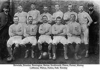 Blackburn Rovers Football Team Photo>1890-91 Season