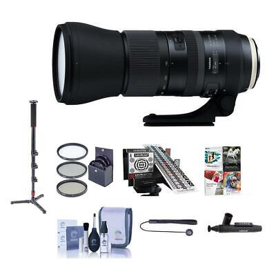 Tamron SP 150-600mm f/5-6.3 Di VC USD G2 Lens f/ALpha DSLRs W/Accessory Bundle