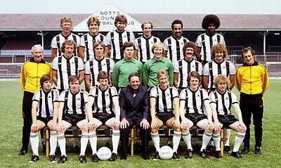 Notts County Football Team Photo>1978-79 Season