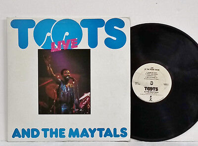 TOOTS & THE MAYTALS Live At The Palais 1980 LTD Pre-Release Toots1 ISLAND REGGAE