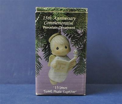 Vintage Precious Moments 1992 15 Years Tweet Music Together 530840
