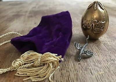 RARE HARRY POTTER Promo Collectable Hungarian Horntail Dragon Egg Velvet  Pouch