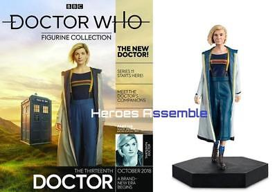 Doctor Who Figurine Collection #138 Thirteenth 13Th Dr Jodie Whittaker Eaglemoss