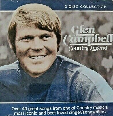 2CD NEW - GLEN CAMPBELL - COUNTRY LEGEND - Country Pop Music 2x CD Album