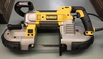 "DEWALT DWM120 10A Corded 5"" Deep Cut Variable Speed Band Saw Power Tool."