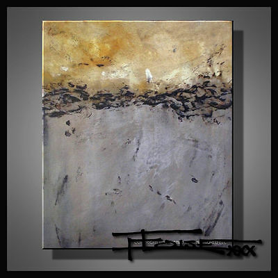 ABSTRACT MODERN PAINTING CANVAS WALL ART Large Framed Signed USA ELOISExxx