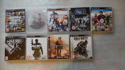9 PS3 Games bundle,Grand Theft Auto V PS3,Battlefield PS3,GTA 4,Black Ops PS3