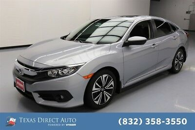 2017 Honda Civic EX-L Texas Direct Auto 2017 EX-L Used Turbo 1.5L I4 16V Automatic FWD Sedan