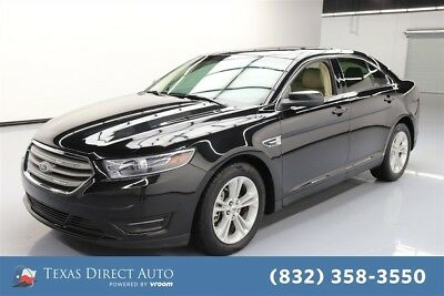 2015 Ford Taurus SEL Texas Direct Auto 2015 SEL Used 3.5L V6 24V Automatic FWD Sedan Premium