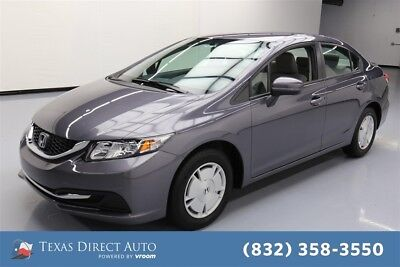 2014 Honda Civic HF Texas Direct Auto 2014 HF Used 1.8L I4 16V Automatic FWD Sedan