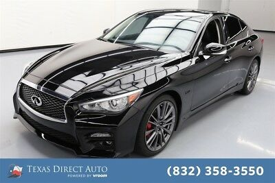 2017 Infiniti Q50 Red Sport 400 Texas Direct Auto 2017 Red Sport 400 Used Turbo 3L V6 24V Automatic RWD Sedan
