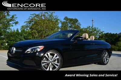 2018 C-Class C 300 Cabriolet W/Navigation 2018 C-Class Convertible 21,529 Miles With warranty-Trades,Financing & Shipping