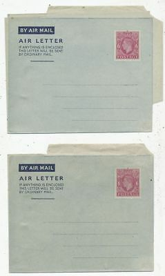 Avion Aviation 2 Aerogramme Angleterre By Air Mail Air Letter