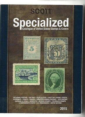 2015 Scott Specialized Catalogue of United States Stamps & Covers,stamp catalog