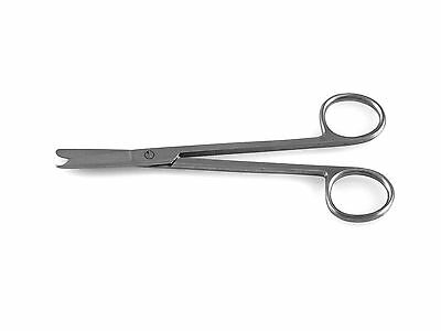 """6 Spencer Stitch Scissors 3.5"""" with Suture Removal Hook NEW Surgical Instruments"""