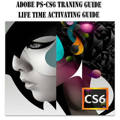 ADOBE CS6  Photoshop, After Effects,Adobe Premiere Pro training Guide &   DVD