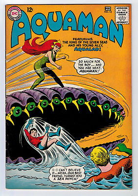 Aquaman #13 6.5 2Nd Appearance Of Mera 1964 Off-White Pages
