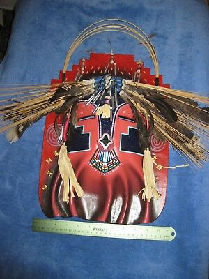 Native American 19X22 inch hanging mask (I have no other info on this)