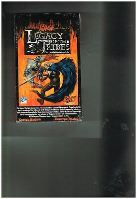 1995 Rage Legacy of the Tribes 24 pack booster box Mint