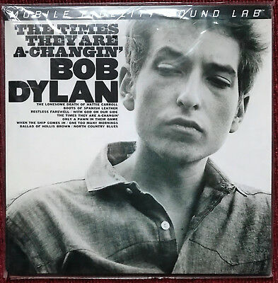 MFSL 2-421  Bob Dylan - THE TIMES THEY ARE A-CHANGIN' - 2LPs (45rpm) - NEU/SLD.!