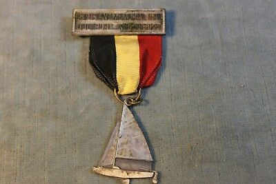 Vint Boy Scout Ship Island Memorial Trail Gulfport  Mississippi Sailboat Medal