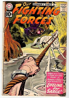 DC - OUR FIGHTING FORCES #64 - FR Dec 1961 Vintage Comic