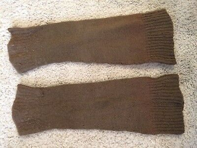 British ww2  scottish highlander wool hose tops with ID