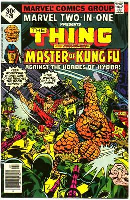 Marvel Two-In-One 29 High Grade Whitman Variant Shang-Chi Bronze Age 1977 Bin