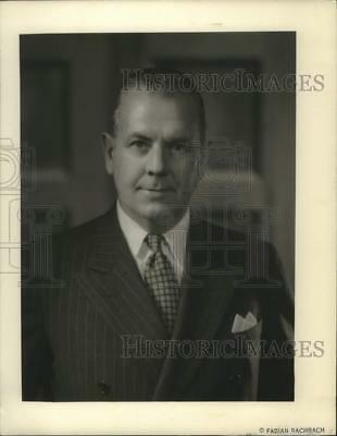 1951 Press Photo Charles French to Serve as Chairman in Boston March of Dimes