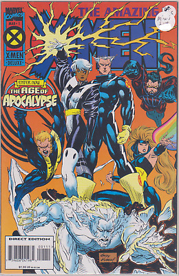 Marvel Comics THE AMAZING X-MEN #1,2,3,4 Age of Apocalypse Never Read