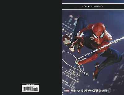 Friendly Neighborhood Spider-Man #1 1:10 Game Variant (09/01/2019)
