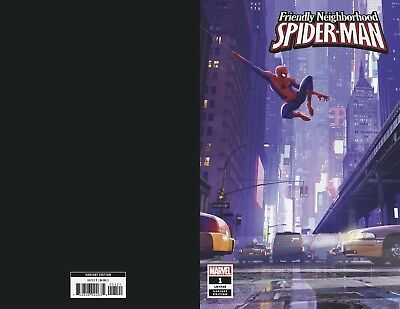 Friendly Neighborhood Spider-Man #1 1:10 Animation Variant (09/01/2019)