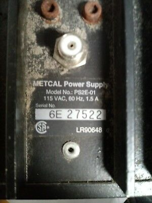 Metcal Ps2E-01 Soldering Desoldering Station Power Supply