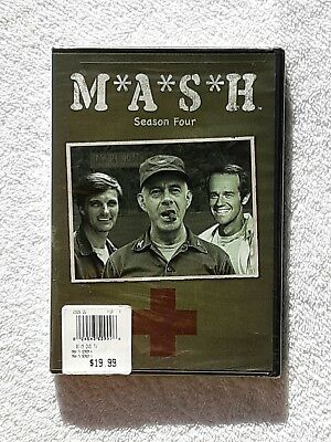 MASH - Season 4 (DVD, 2009, 3-Disc Set) NEW Sealed Free Shipping