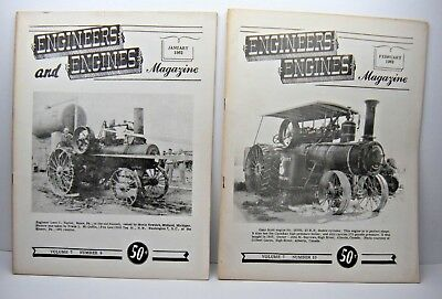 Vintage Engineers and Engines Magazine 12 issues circa 1962
